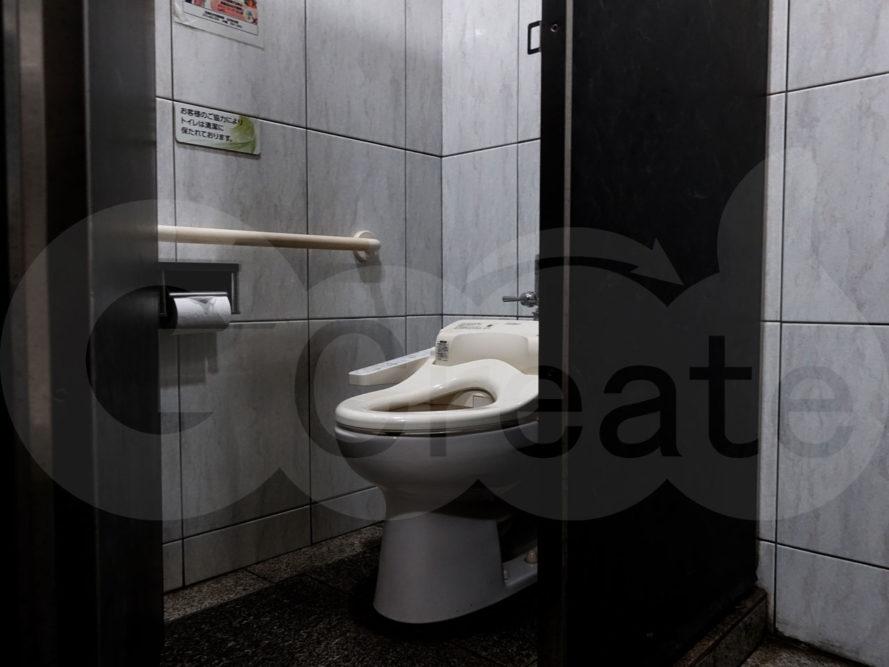 薄気味悪いトイレb