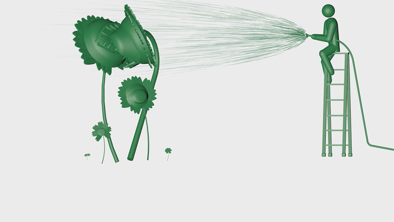 巨大植物進化