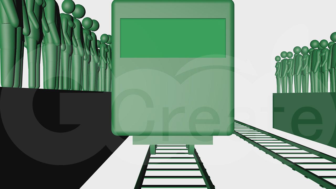 通勤列車c