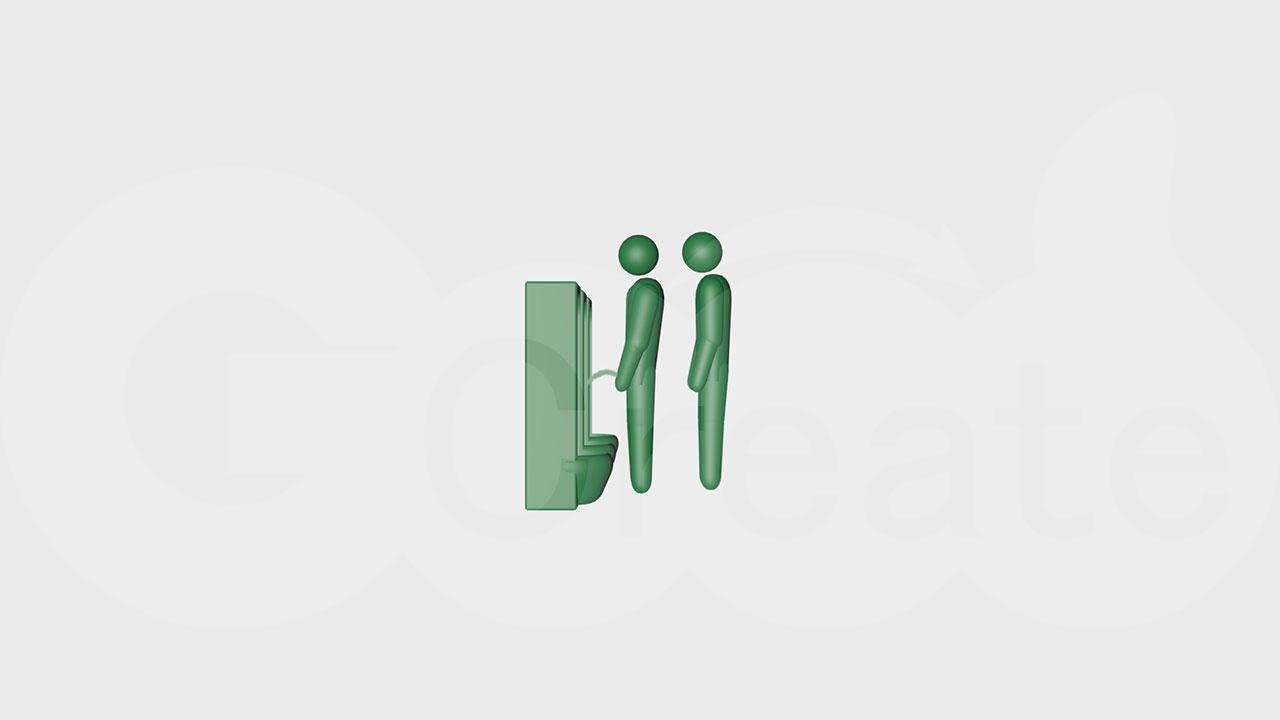 並ぶトイレc