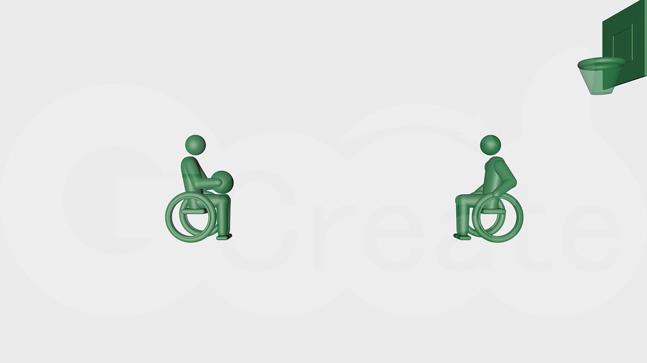 車椅子バスケc